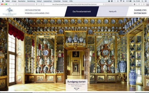 screenshot website, © FH Potsdam
