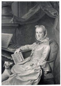 Johann Georg Ziesenis, Herzogin Philippine Charlotte von Braunschweig, GK I 30118, Foto: Walter Steinkopf, Copyright: SPSG